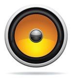 ikona samochodowy głośnik Obrazy Stock