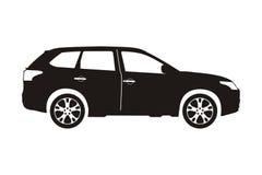 Ikona samochodu suv Zdjęcia Stock