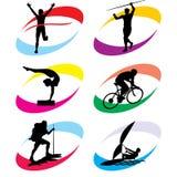 ikona sport Zdjęcia Royalty Free