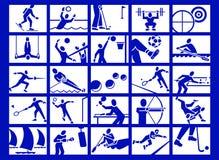 ikona sportu Zdjęcia Stock