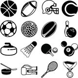 ikona sportu Fotografia Stock
