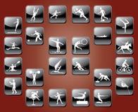 ikona sporty Zdjęcia Royalty Free