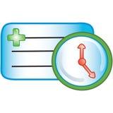 ikona spotkanie pacjent ilustracji