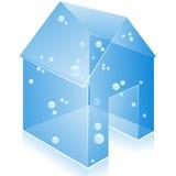 ikona szklany domowy wektor Fotografia Royalty Free