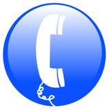 ikona telefon Zdjęcia Stock