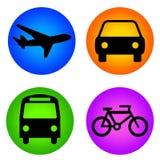 ikona transport Zdjęcie Stock