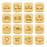 ikona transport royalty ilustracja