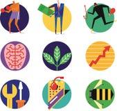 Ikona Ustawia (1) Fotografia Royalty Free