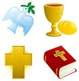 Ikona ustawiająca dla Easter Fotografia Stock