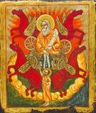 Ikona w kościół Zdjęcie Royalty Free