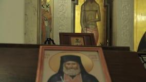 Ikona w kościół zbiory wideo