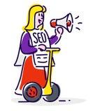 Ikona w stylu kreskówki Odosobniony przedmiot na białym backgr Zdjęcia Stock