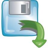 ikona wczytywania danych Zdjęcie Royalty Free