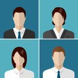 ikona wektorów biznesowi ludzie Fotografia Stock