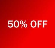 Ikona 50% z obrazkowego Obrazy Royalty Free