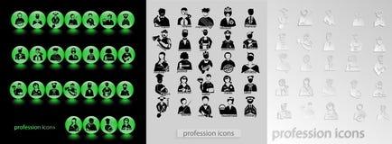 Ikona zawód Fotografia Stock