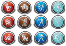 ikona zodiak Fotografia Stock