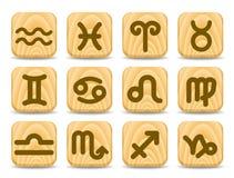 ikona zodiak ilustracji