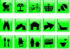 Ikone Lizenzfreie Stockfotografie