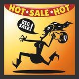 Ikone der Käuferin Stockfotos
