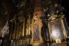 Ikone in der Kirche in Krakau Polen Lizenzfreie Stockfotografie