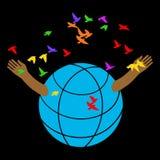 Ikone der Welt Lizenzfreie Stockbilder