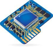 Ikone des Chipsets Lizenzfreie Stockfotos