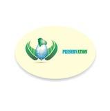 Ikone des Einsparungswassers Stockbilder