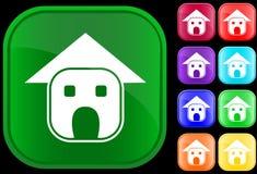 Ikone des Hauses Lizenzfreie Stockbilder