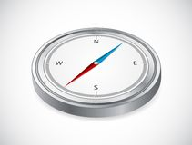 Ikone des Kompassses Stockbilder
