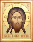 Ikone des Lords Jesus Christus Lizenzfreies Stockfoto