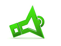 Ikone des niedrigen Datenträgers Lizenzfreies Stockbild