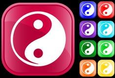 Ikone des Tao-Glaubens stock abbildung