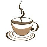 Ikone des Tasse Kaffees Stockfoto