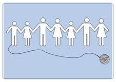 Ikone des Vektorfamilien-abgehobenen Betrages vektor abbildung