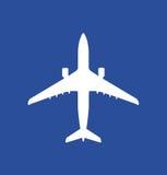 Ikone eines beginnenden Flugzeuges Lizenzfreies Stockbild