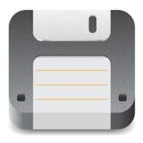 Ikone für Diskette Stockbild