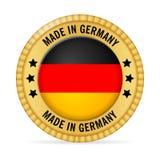 Ikone hergestellt in Deutschland Lizenzfreies Stockfoto