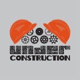Ikone im Bau, Sturzhelm, Gang Stockfoto