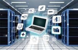 Ikone, Internet, Anbieter Stockfotografie