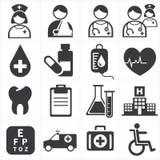 Ikone medizinisch Lizenzfreies Stockbild