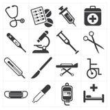 Ikone medizinisch Stockfoto