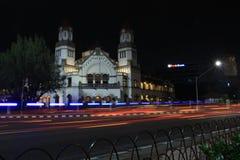 Ikone Semarang Lawang Sewu Ikone Semarang mit tausend Türen Lizenzfreie Stockbilder
