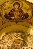 Ikone von Jungfrau Maria auf patriarchalischem Sitz Lizenzfreie Stockfotografie
