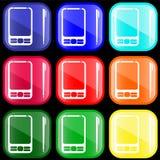Ikone von PDA lizenzfreie abbildung