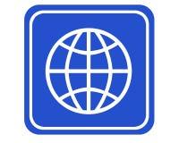Ikone weltweit stockfoto