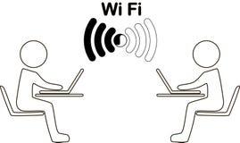 Ikone wi-FI Stockfotos