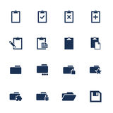 ikonen Lizenzfreies Stockbild