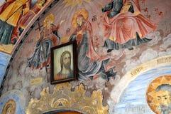 "Ikonen Bachkovo-Kloster ""Assumption heiligen Virginâ€- stockfotos"