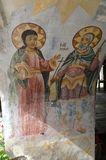 "Ikonen Bachkovo-Kloster ""Assumption heiligen Virginâ€- lizenzfreie stockbilder"